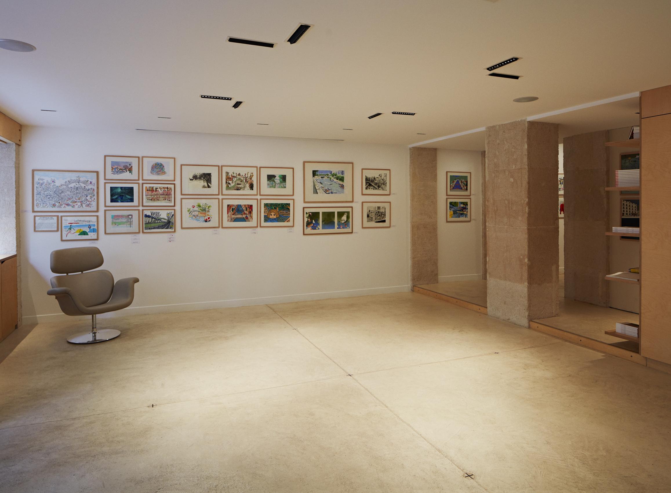 Atelier van Wassenhove_Galerie Le Treize Dix_06 ©Aurélien Chauvaud